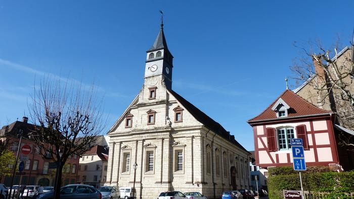 Journées du patrimoine 2019 - Visite du temple Saint-Martin de Montbéliard