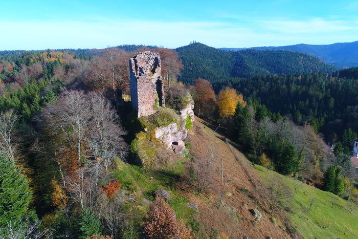 Journées du patrimoine 2019 - Visite commentée des vestiges du Château de Pierre Percée