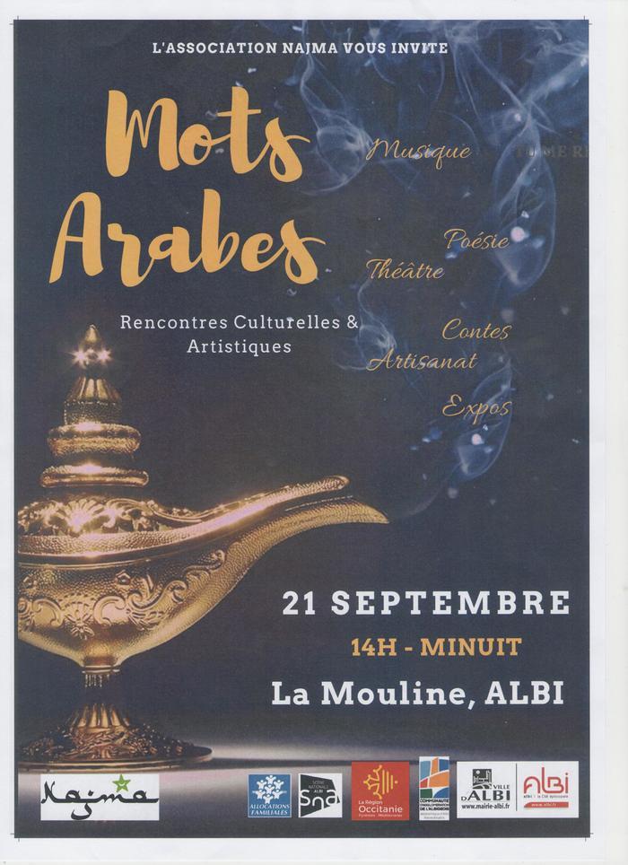 Les rencontres culturelles « mots arabes » sont centrées sur les différentes formes d'écriture et d'expression artistiques du monde arabe