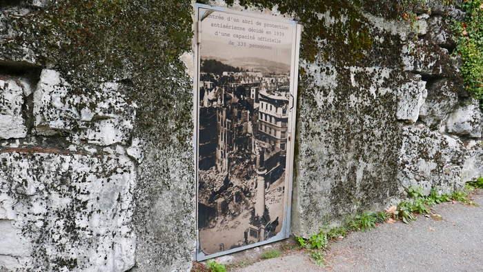 Journées du patrimoine 2020 - Visite de l'abri anti-aérien du Clos Savoiroux