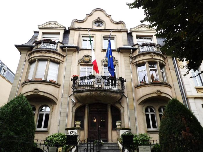 Journées du patrimoine 2019 - Visite libre du Consulat d'Italie