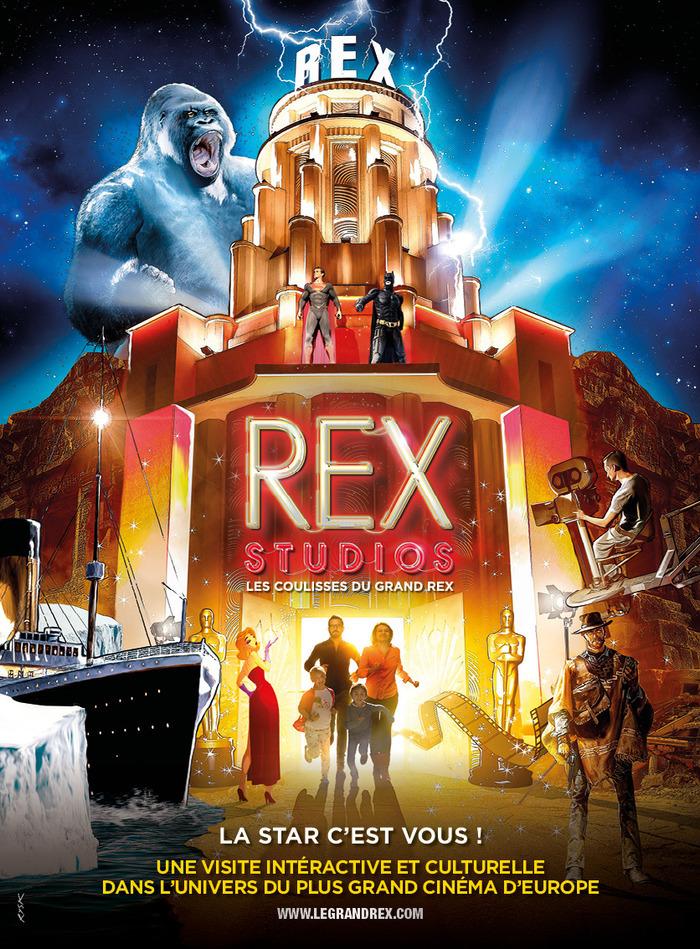 Journées du patrimoine 2020 - Visite audio-guidée des Rex Studios