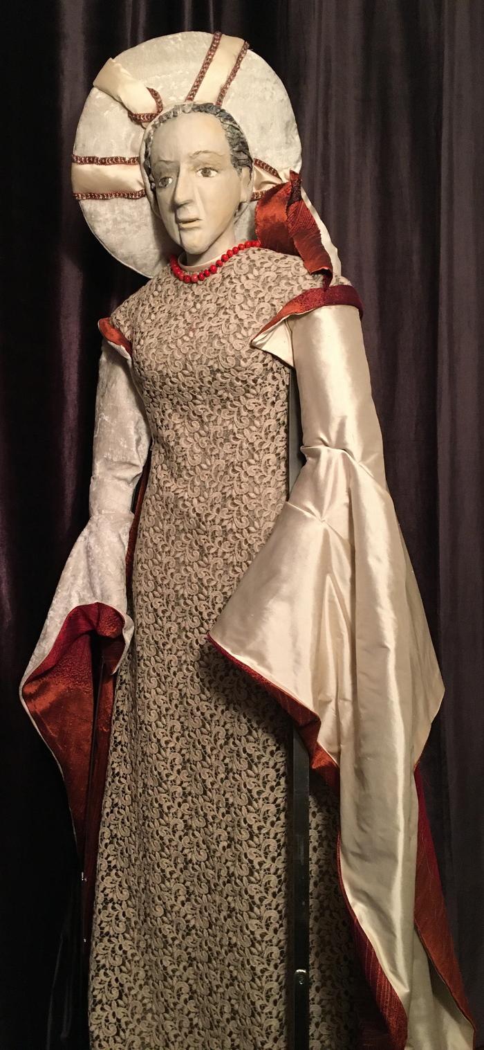 Journées du patrimoine 2020 - Personnages du répertoire et neuf propositions sur le costume Shakespearien à l'occasion de la création d'Hamlet en 2020.