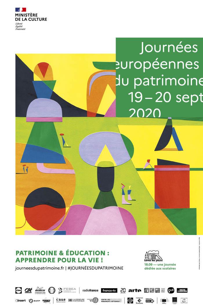 Journées du patrimoine 2020 - Lecture