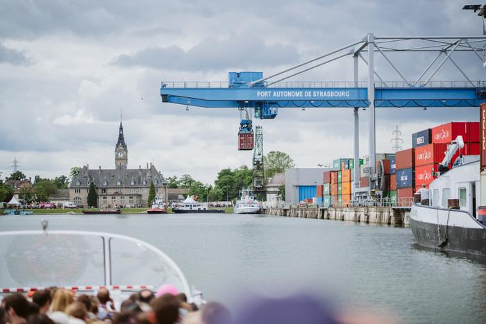Journées du patrimoine 2019 - Visite guidée du Port de Strasbourg en bateau-promenade