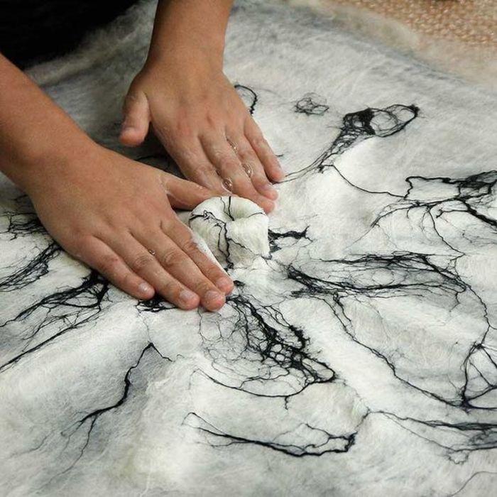Atelier Enfant : Feutrage et totem textile