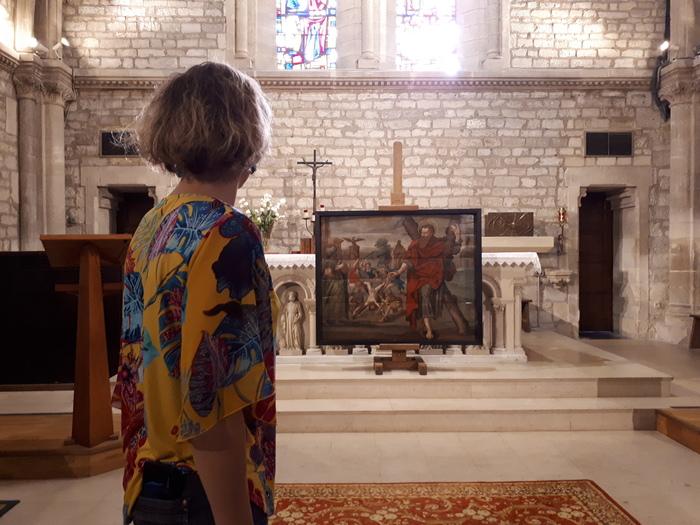 Journées du patrimoine 2019 - Visite libre de l'église avec le tableau Le Martyre de Saint André