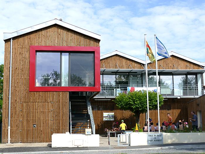 Visites et expositions à l'École de voile de Port Maubert