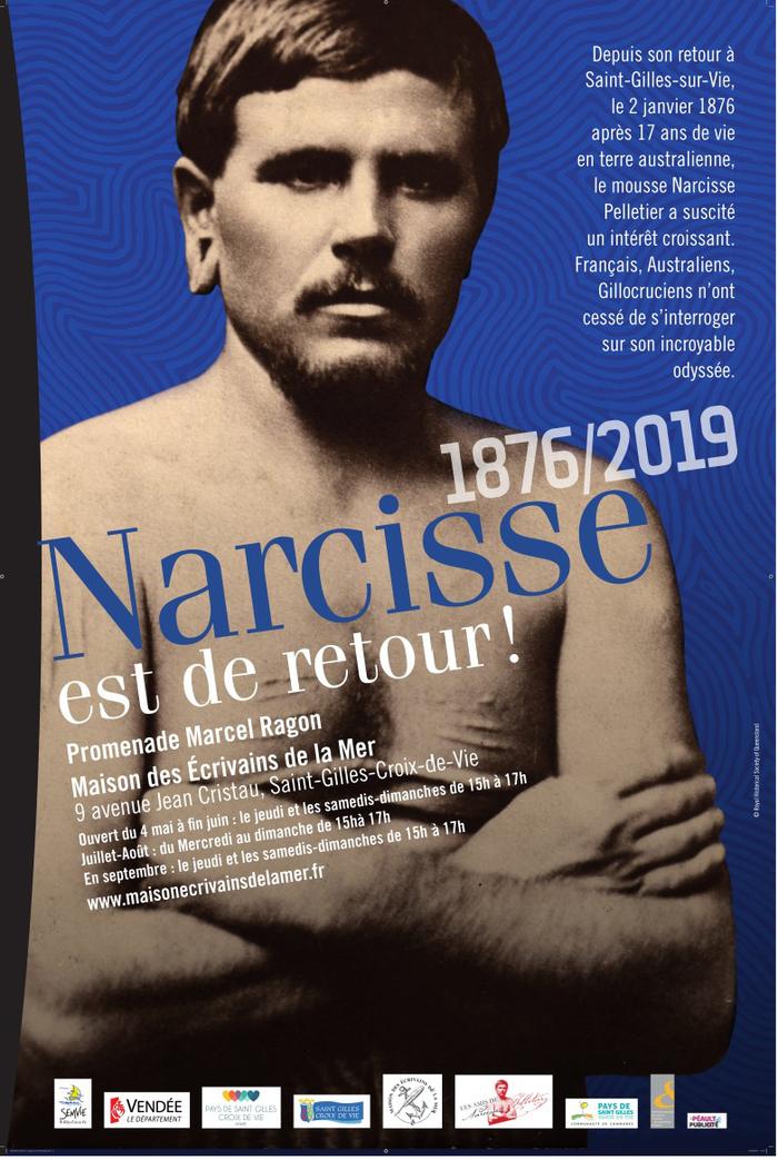 Journées du patrimoine 2019 - Exposition : 1876-2019, Narcisse est de retour