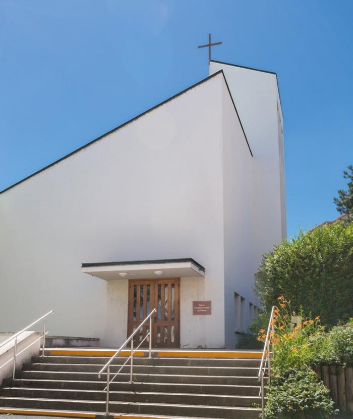 Journées du patrimoine 2019 - Visite du Temple Protestant de Mâcon