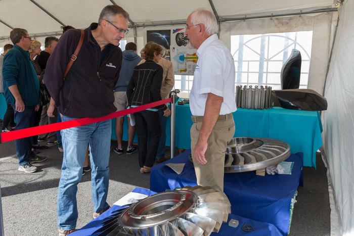 Journées du patrimoine 2019 - Exposition de pièces aéronautiques et de leurs procédés de fabrication