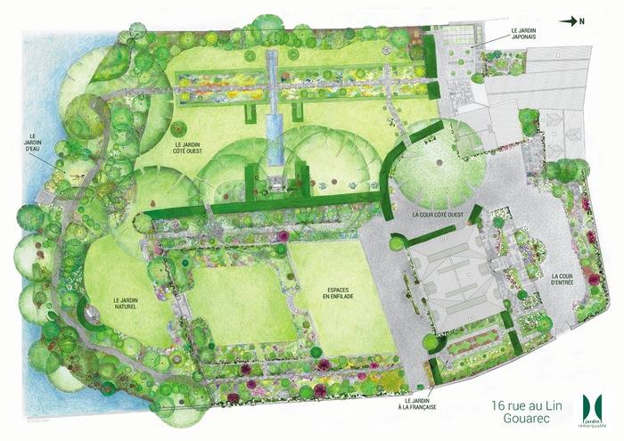 Journées du patrimoine 2020 - Visite guidée du jardin, un jardin en ville à Gouarec