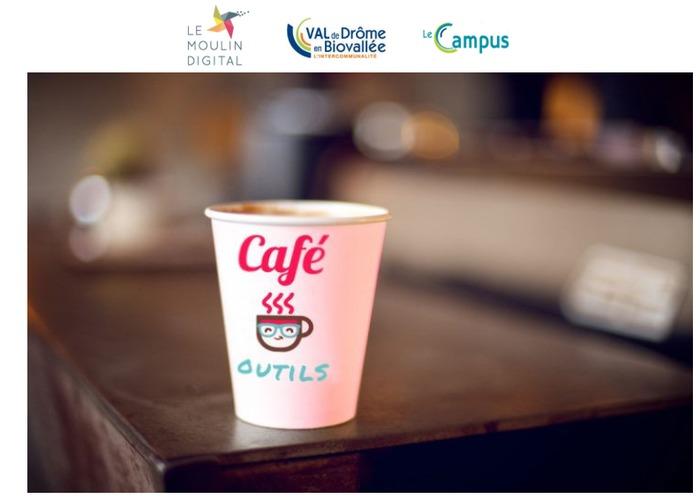 Annulé   CAFE OUTILS Vallée de la Drôme: Développer votre réseau avec Linkedin