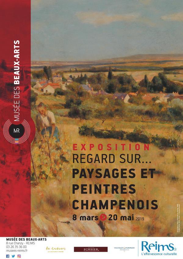 Nuit des musées 2019 -Regard sur...Paysages et peintres champenois