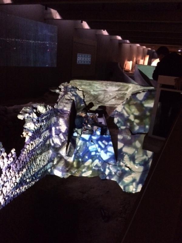 Nuit des musées 2019 -Procession: Performance audiovisuelle
