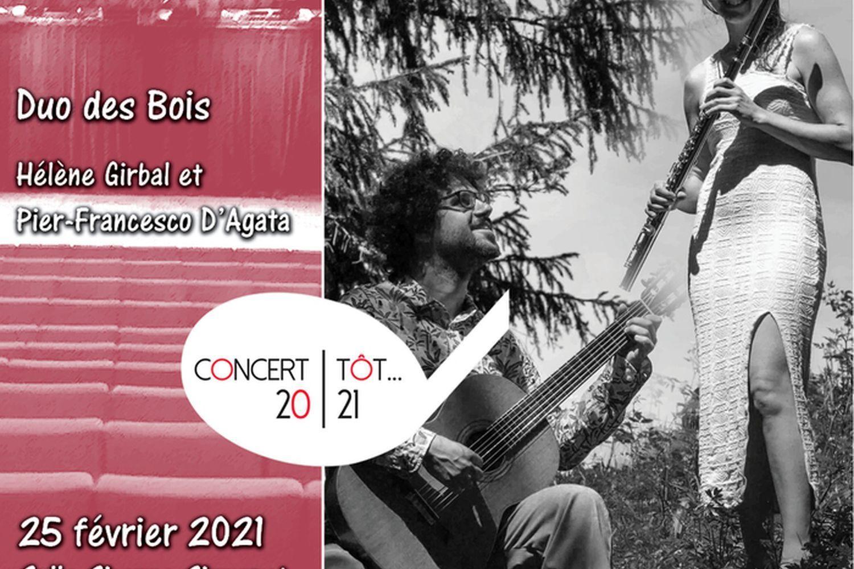 Concert tôt... Duo des Bois