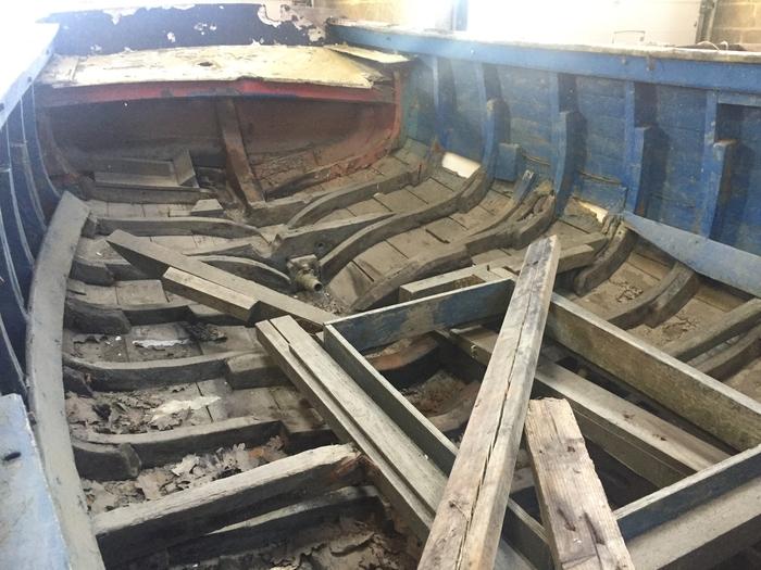 Journées du patrimoine 2020 - Atelier de restauration d'un bateau traditionnel en bois