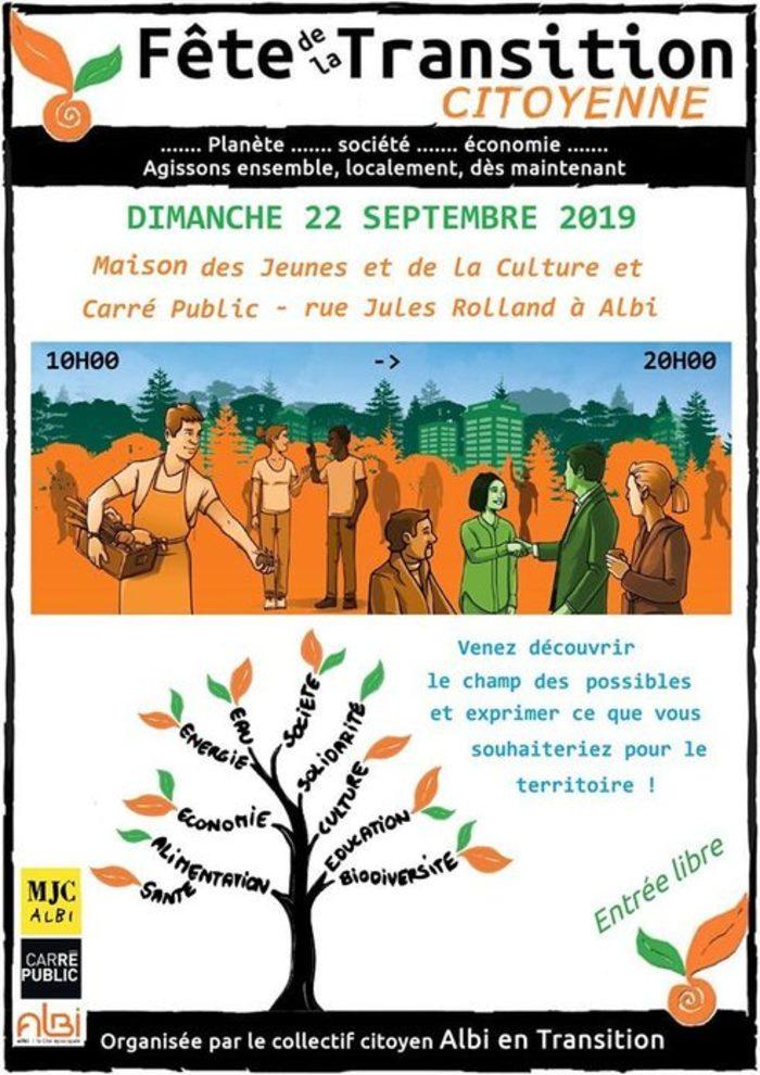 Atelier créatif dans le cadre de la Fête de la transition - Samedi 14 septembre 2019 à 14h et 14h45 Médiathèque Pierre Amalric d'Albi