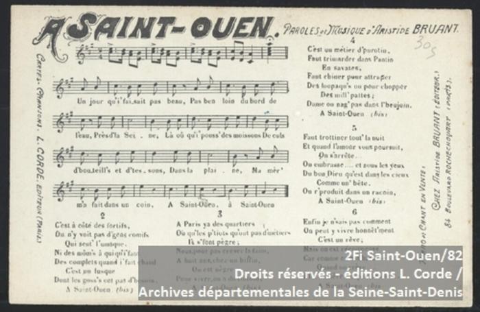 Journées du patrimoine 2019 - La Seine-Saint-Denis en chantant