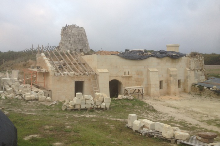 Journées du patrimoine 2019 - Visite d'un moulin à vent en restauration