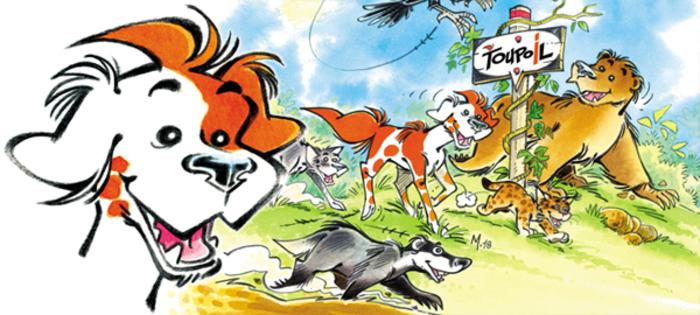 Serge Monfort, auteur de la série Toupoil, dédicacera les quatre albums parus de cette BD d'aventures pour les 6-8 ans (plus ou moins), passionnés de BD et de nature.