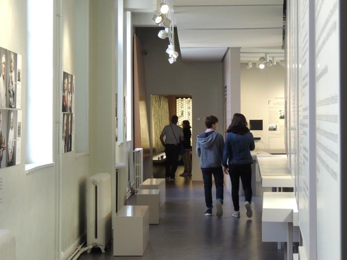 Nuit des musées 2019 -Les élèves de la classe de 3°C du collège Jeanne d'Arc d'Orléans investissent le Musée-Mémorial
