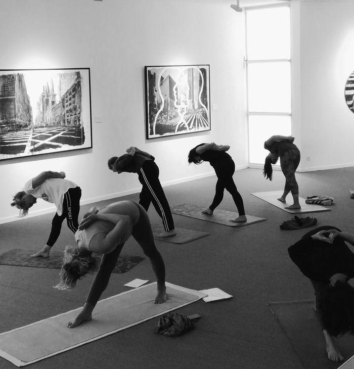 Journées du patrimoine 2020 - Atelier yoga : comment voir l'art autrement au musée, animé par Cécilia Makhloufi