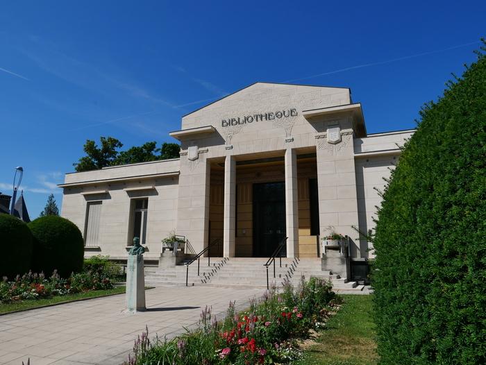 Journées du patrimoine 2020 - Visite guidée de la bibliothèque Carnegie