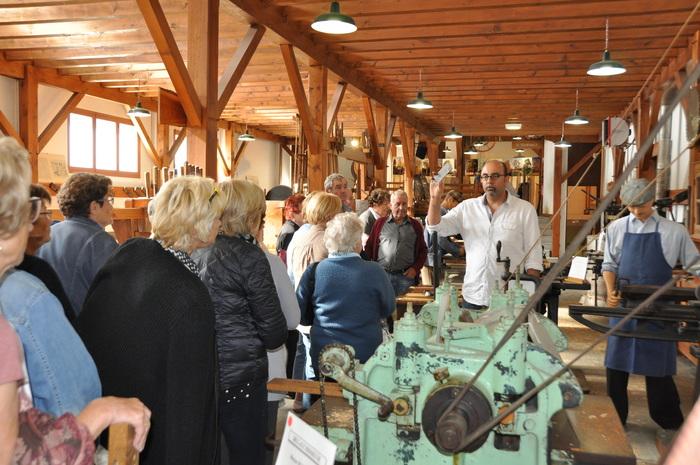 Journées du patrimoine 2020 - Visite libre du Musée de la machine à bois et de l'outillage à main