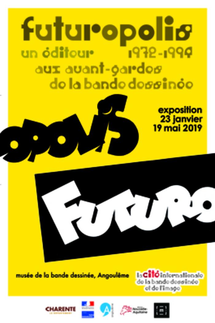 Nuit des musées 2019 -Visite commentée de l'exposition Futuropolis