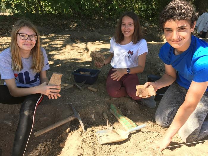 Journées du patrimoine 2020 - Atelier fouilles archéologiques pour jeune public
