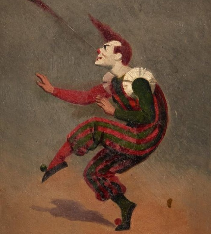 """Le Musée Toulouse-Lautrec propose des ateliers autour de la thématique du clown et du cirque, destinés à un public familial dans le cadre de son exposition temporaire """"Montmartre, fin de siècle""""."""