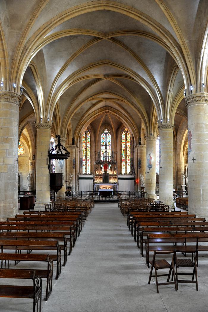 Journées du patrimoine 2019 - Visite libre de l'église Saint-Nicolas de Marville