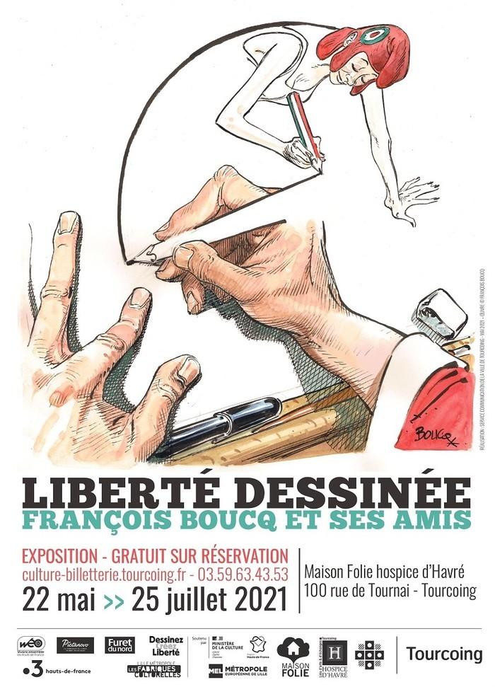 Liberté dessinée ! François Boucq et ses amis