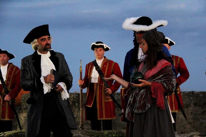 Journées du patrimoine 2020 - Visites costumées du Fort de Bertheaume