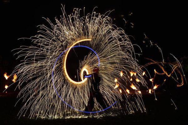 Nuit des musées 2019 -Spectacle pyrotechnique