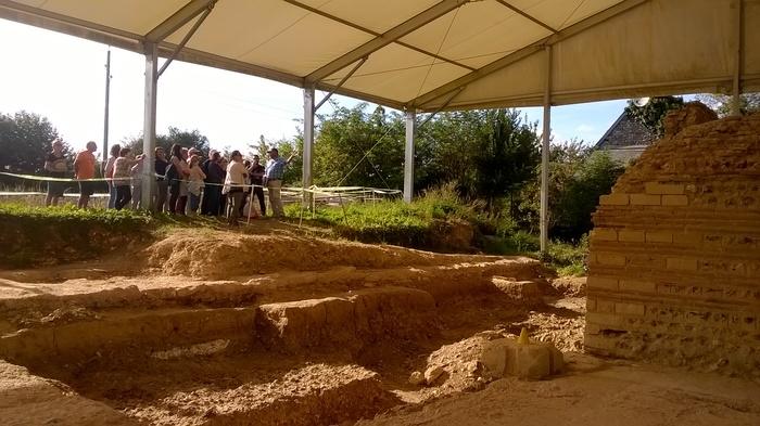 Journées du patrimoine 2019 - Visite guidée du chantier de fouille du temple gallo-romain