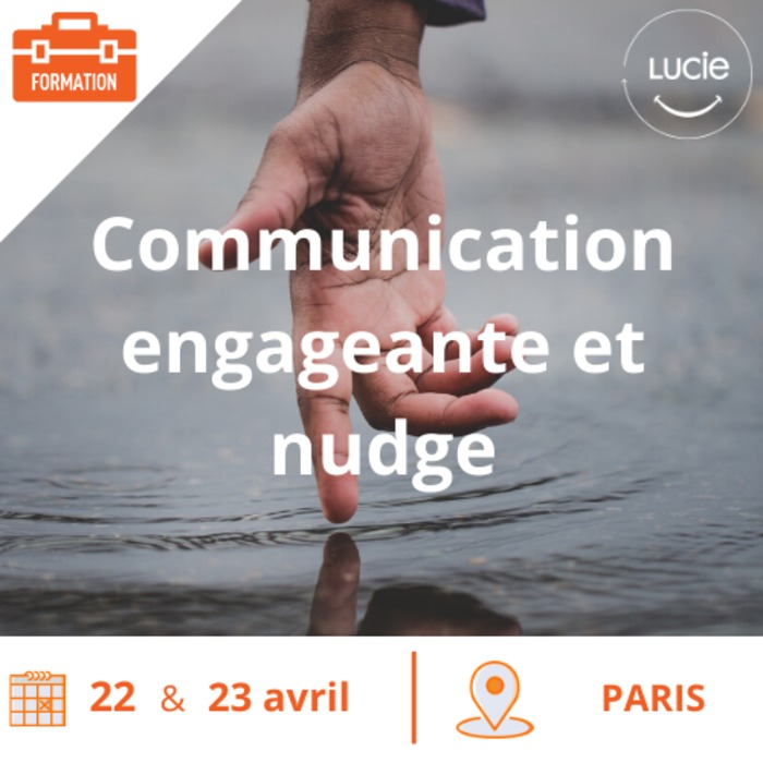 Formation : Communication engageante et nudges en pratique