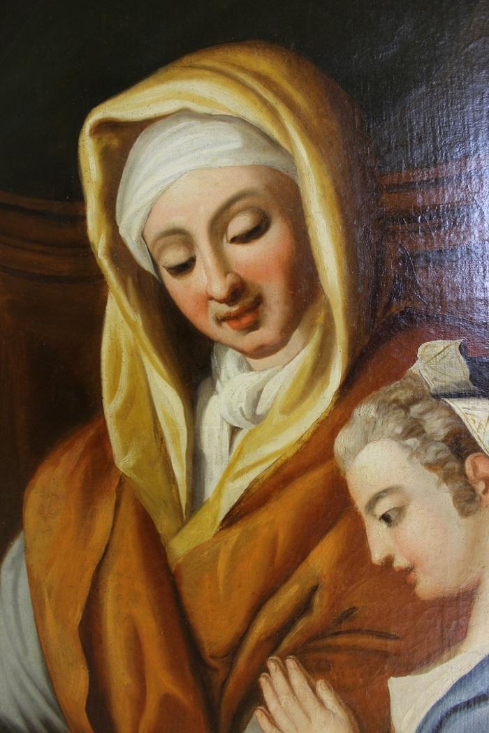 Journées du patrimoine 2020 - Présentation du tableau de Sainte-Anne