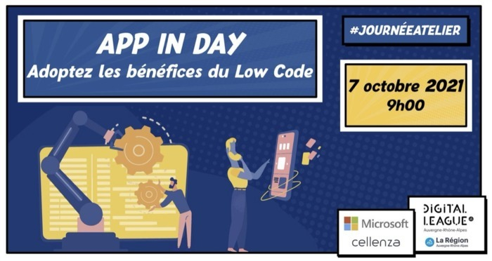 APP IN A DAY : adoptez les bénéfices du Low Code