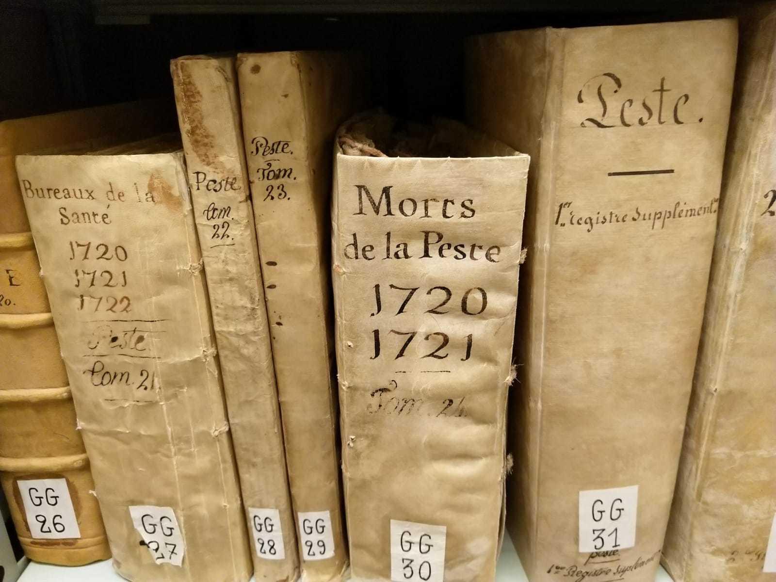 Balade historique à travers la ville et les archives pour découvrir Arles et la peste de 1720