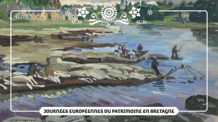 Journées du patrimoine 2020 - Conférence : Yvonne Jean-Haffen et l'Inventaire du patrimoine. Regards croisés sur la vallée de la Rance Côte d'Emeraude.