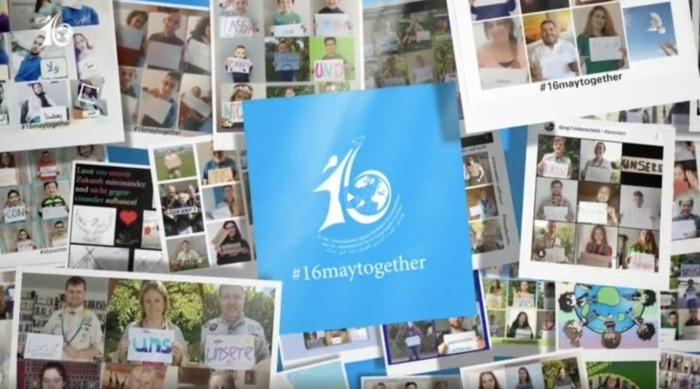 Scoutisme - Participation au concours de collage de photos