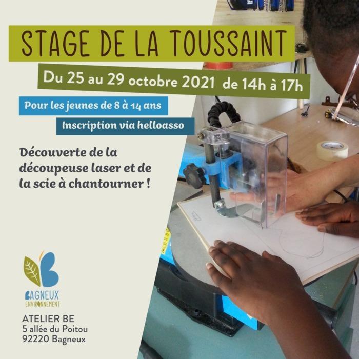 Stage de la Toussaint à l'Atelier BE