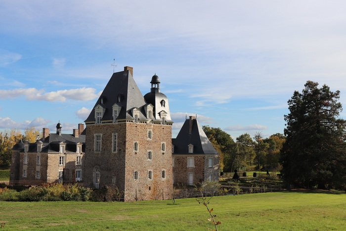 Journées du patrimoine 2019 - Visite libre des extérieurs du château des Arcis et de ses jardins