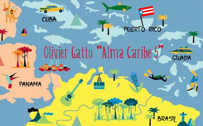 Bamboche à L'Entrepôt ! Concert – Olivier Gatto «Alma Caribe 5»