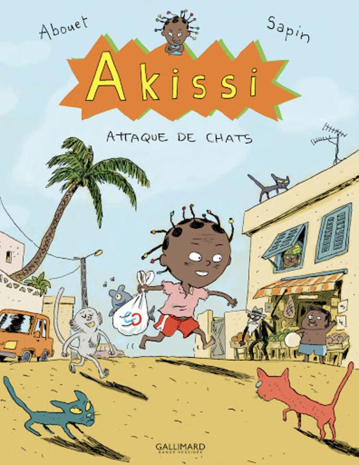Marguerite Abouet et Mathieu Sapin proposent des activités à la fin de chaque album d'Akissi. Venez faire en tout petit groupe les ateliers proposés avec les bibliothécaires !