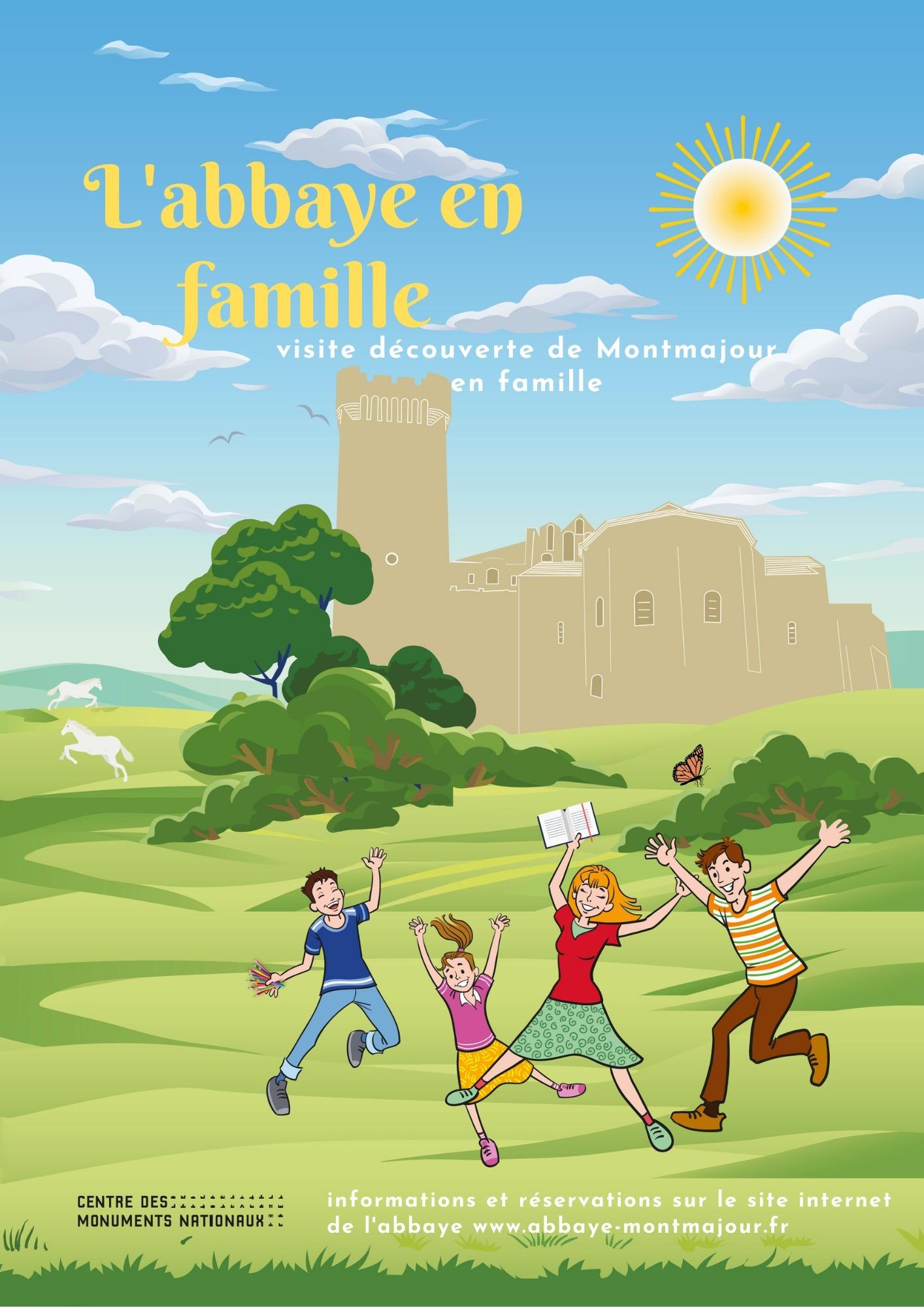 Tout au long de l'année emmenez vos enfants à la découverte de l'abbaye de Montmajour à travers une visite guidée d'1h30 !