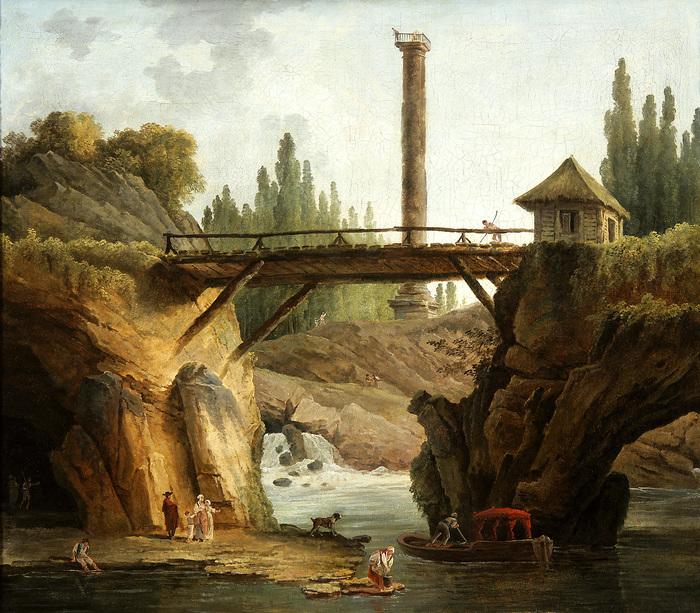 Journées du patrimoine 2019 - Mise en eau de la grande cascade du domaine de Méréville