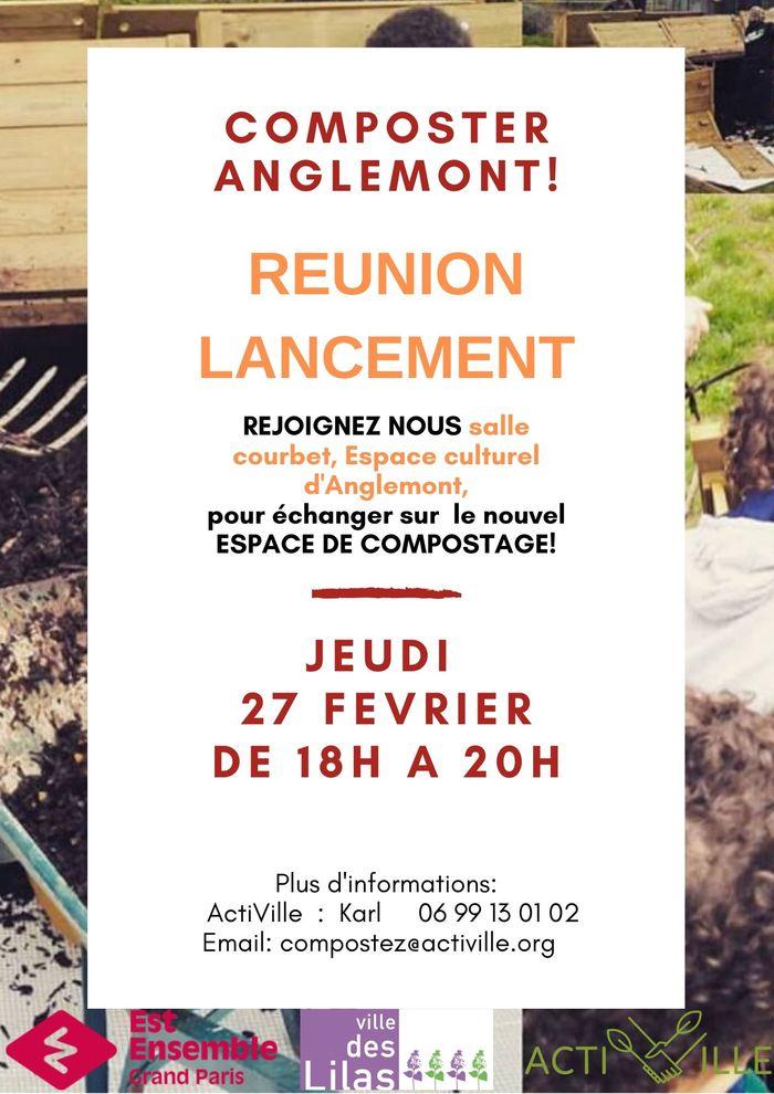 Reunion de Lancement Composteur Quartier Anglemont